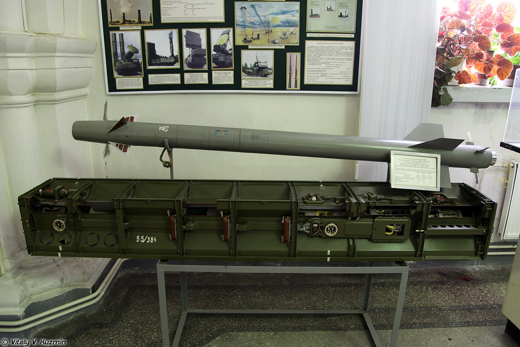 ЗУР 9М37 ЗРК 9К35 Стрела-10 (9M37 SAM for 9K35 Strela-10 system)