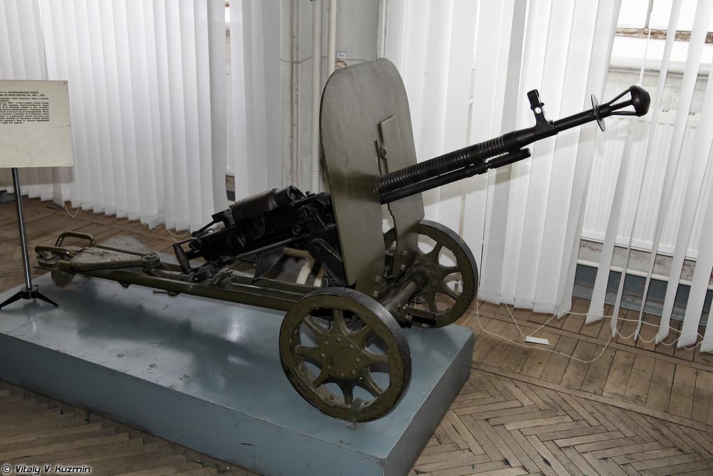 Пулемет ДШК (DShK machine gun)