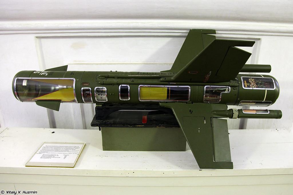 ПТУР 9М17П ПТРК 9К8П Флейта (9M17P ATGM for 9K8P Phleyta system)