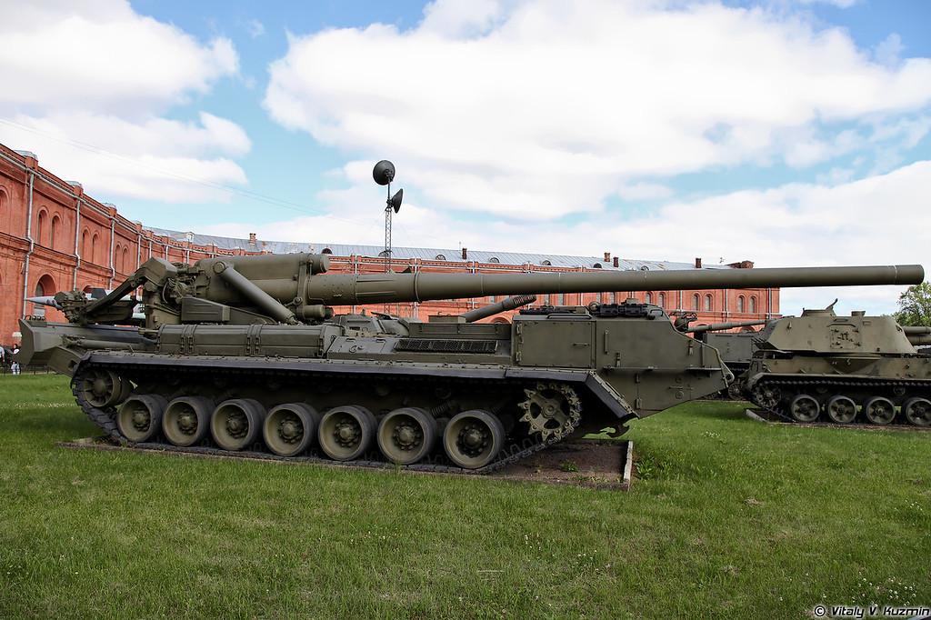 Самоходная пушка 2С7 Пион (2S7 Pion SpG)