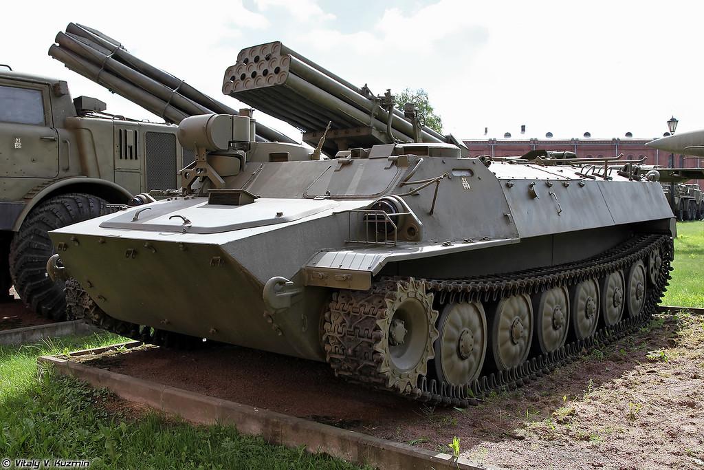 Боевая машина 9П149 ПТРК 9К114 Штурм-С (9P149 combat vehicle 9K114 Shturm-S ATGM system)