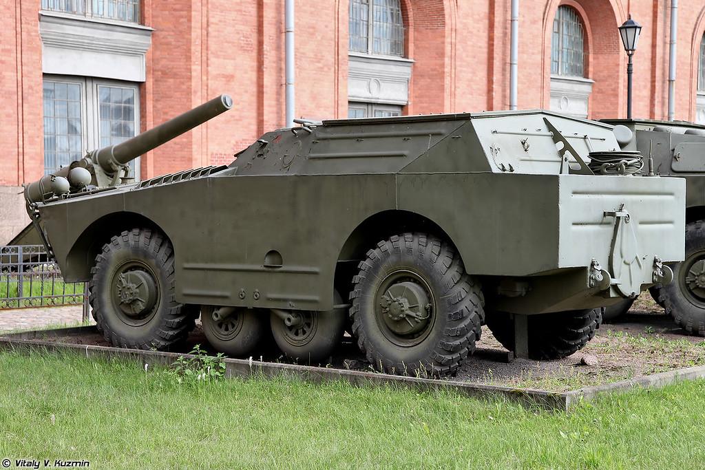 Боевая машина 9П110 ПТРК 9К11 Малютка (9P110 combat vehicle 9K11 Malyutka ATGM system)