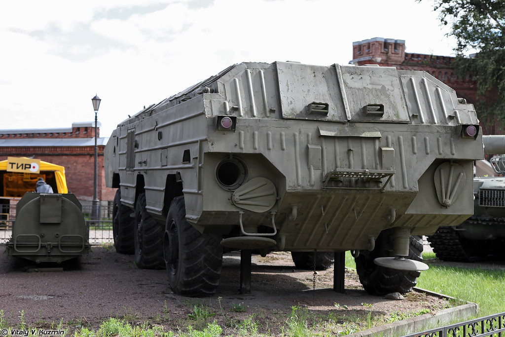 Пусковая установка 2П129 ракетного комплекса 9К79 Точка (2P129 TEL 9K79 Tochka missile system)