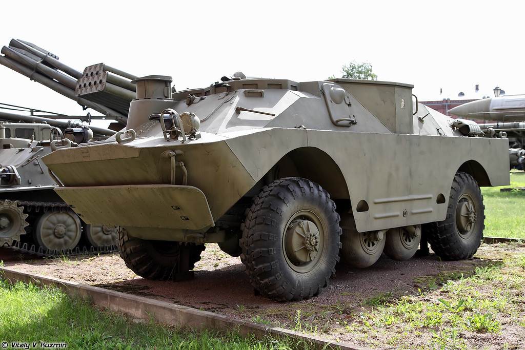 Боевая машина 9П137 ПТРК 9К8П Флейта (9P137 combat vehicle 9K8P Phleyta ATGM system)