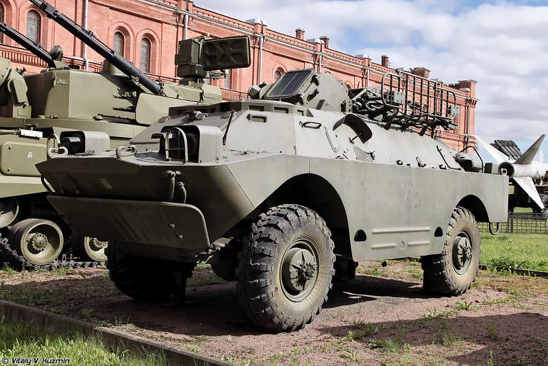 Боевая машина 9А31 ЗРК 9К31 Стрела-1 (9A31 combat vehicle 9K31 Strela-1)