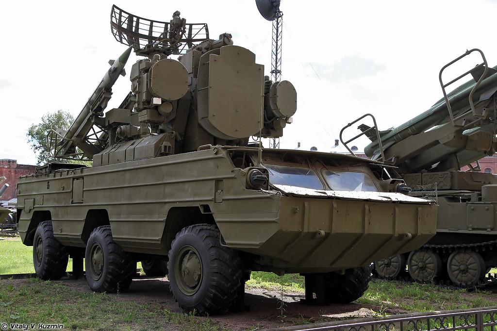 Боевая машина 9А33 ЗРК 9К33 Оса (9A33 combat vehicle 9K33 Osa)
