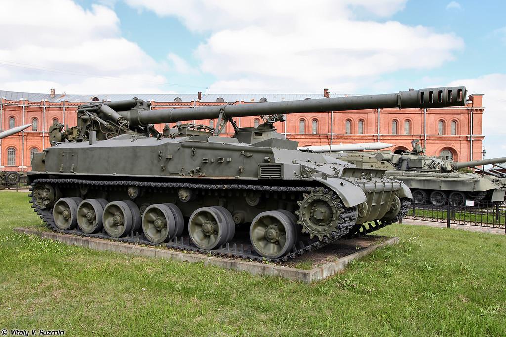 Самоходная пушка 2С5 Гиацинт-С (2S5 Giatsint-S gun)