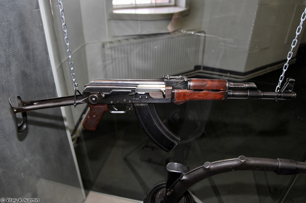 7,62-мм автомат АКС (7.62mm assault rifle AKS)