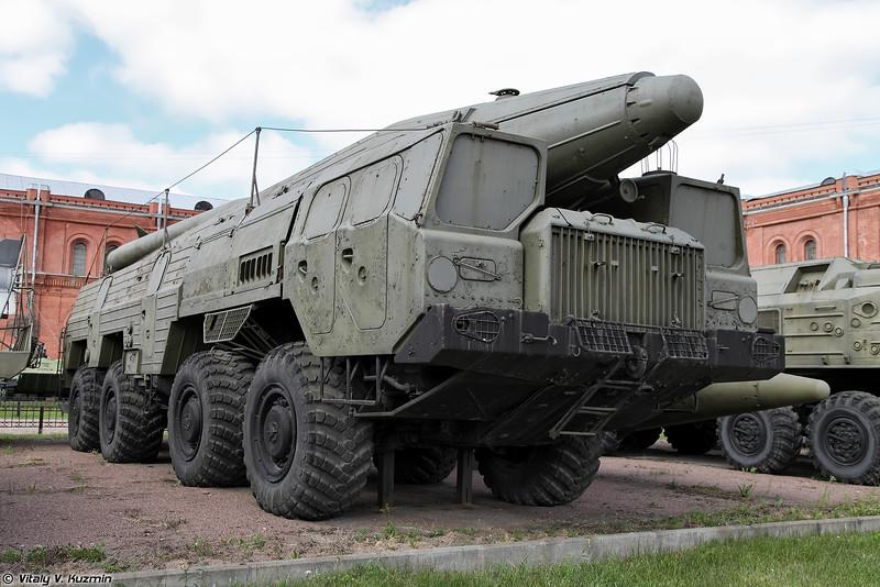 Пусковая установка 9П120 ракетного комплекса 9К76 Темп-С (9P120 TEL 9K76 Temp-S missile system)