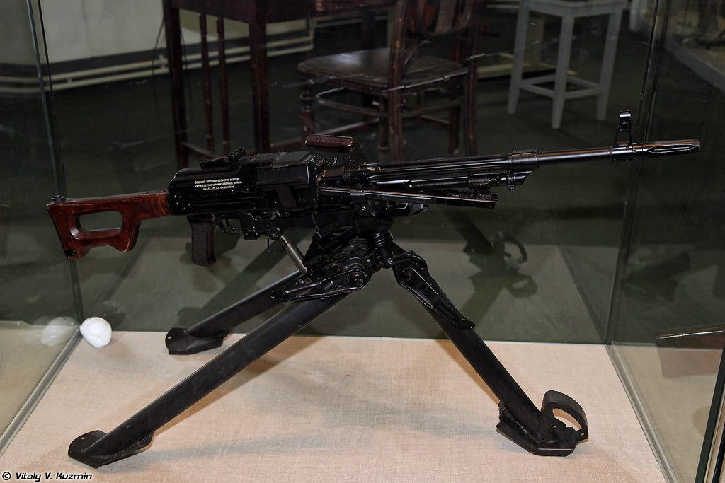 7,62-мм станковый пулемет ПКС (7.62mm machine gun PKS)