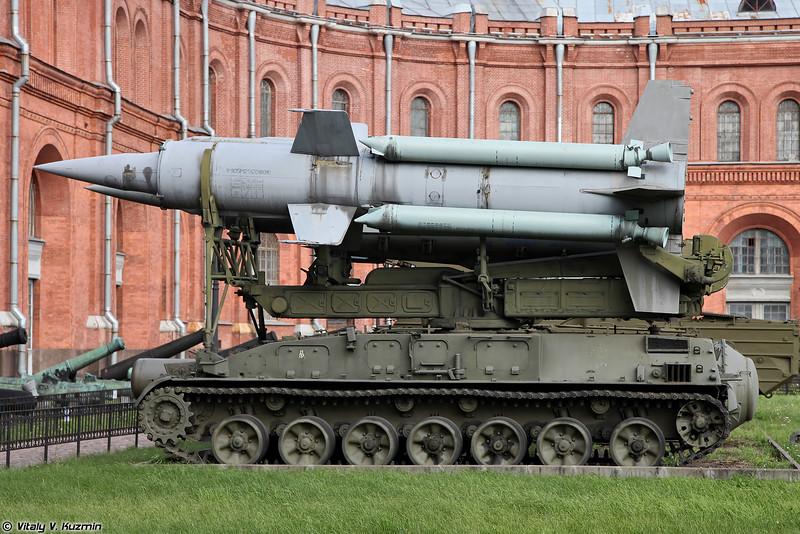 Пусковая установка 2П24 ЗРК 2К11 Круг (2P24 TEL 2K11 Krug air defence system)