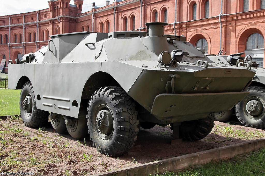 Боевая машина 9П133 ПТРК 9К14П Малютка-П (9P133 combat vehicle 9K14P Malyutka-P ATGM system)