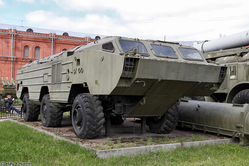 Пусковая установка 9П129 ракетного комплекса 9К79 Точка (9P129 TEL 9K79 Tochka missile system)
