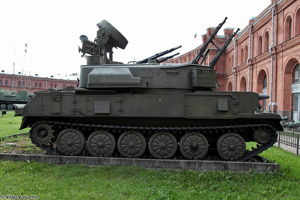 Самоходная зенитная установка ЗСУ-23-4 Шилка (ZSU-23-4 Shilka)