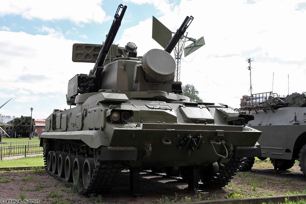 Зенитная самоходная установка 2С6 ЗРПК 2К22 Тунгуска (2S6 TELAR 2K22 Tunguska)