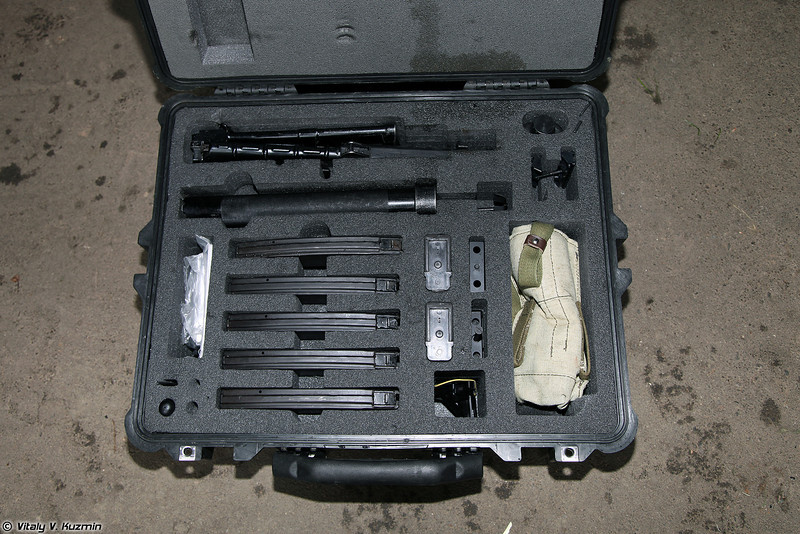 Кейс для комплекта СР3М (Case for the SR3M rifle with accessories)