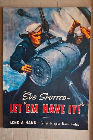 WW II era poster
