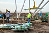 Construction detail photos of Patriot Plaza...  3/12/2014