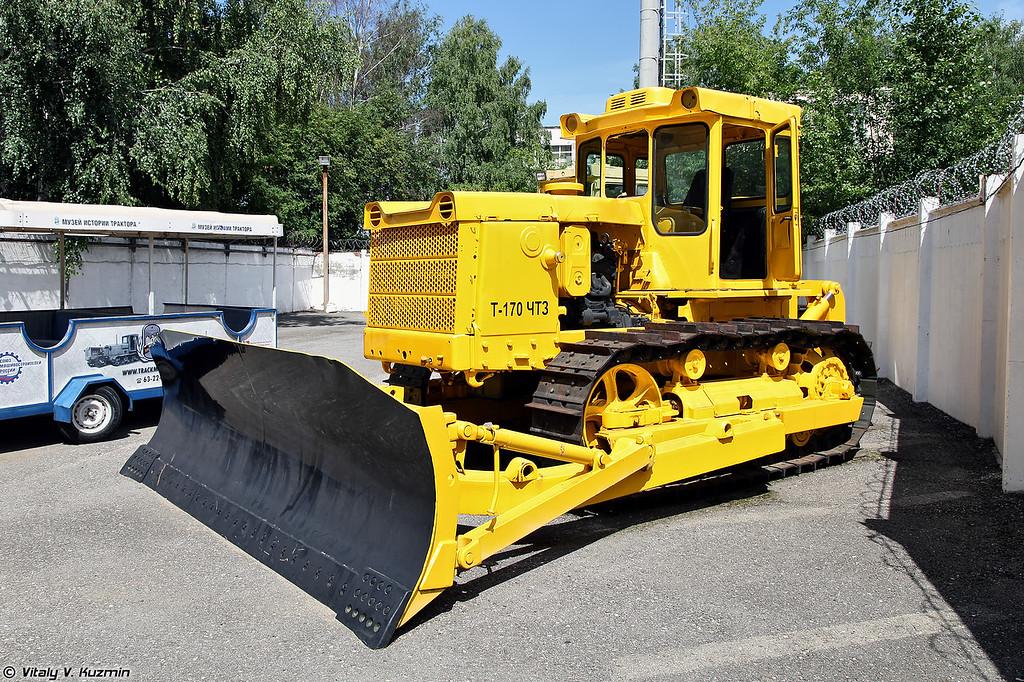 Промышленный трактор Т-170 (T-170 tractor)