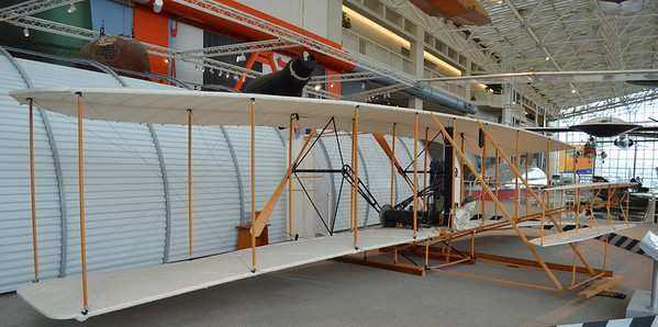 Wright Flyer like the one Flown at Kitty Hawk