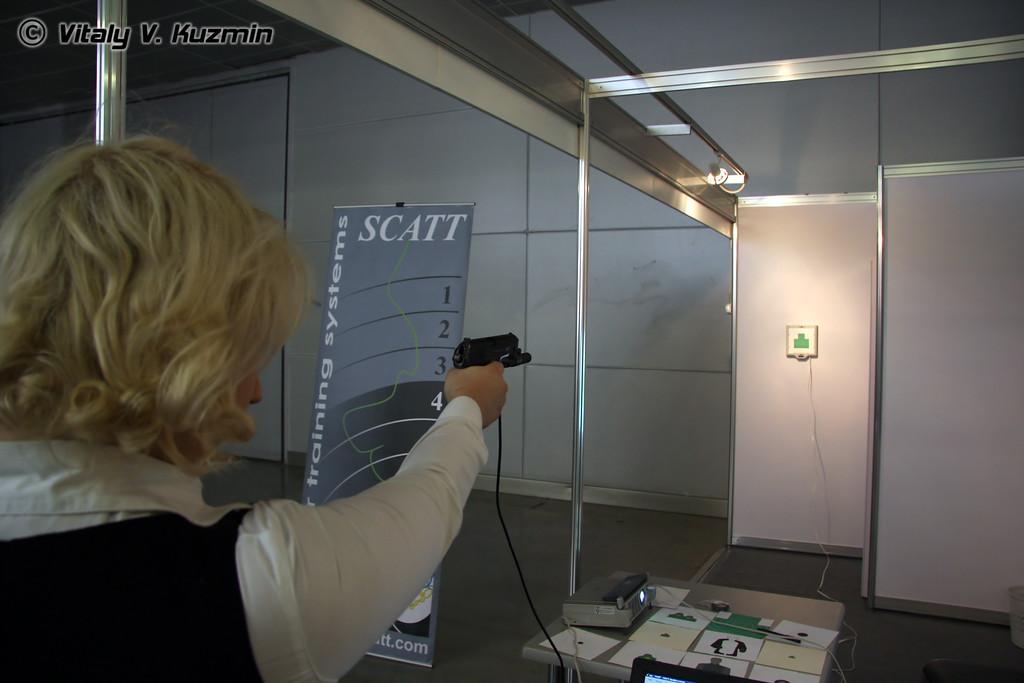 Стрелковый тренажер Скат (SCATT shooting simulator)