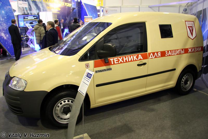 Бронированный автомобиль Рыцарь-294544-01