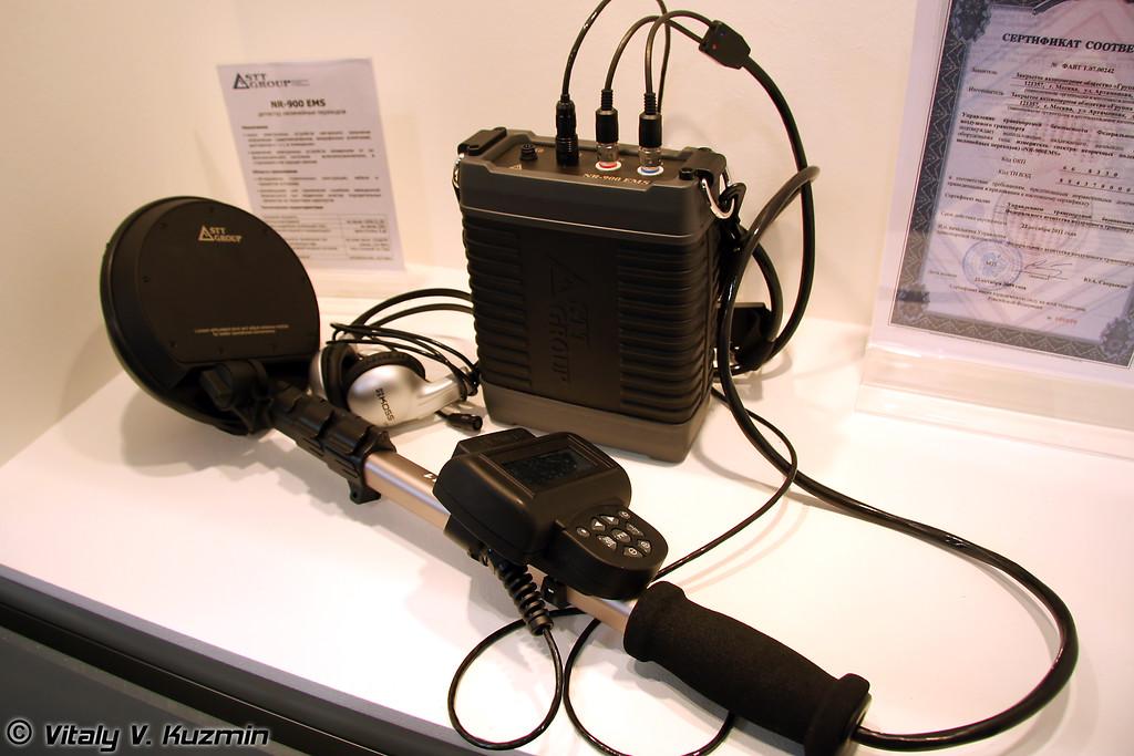 Детектор нелинейных переходов NR-900 EK Коршун для обнаружения мин и ВУ, оснащенных электронными взрывателями