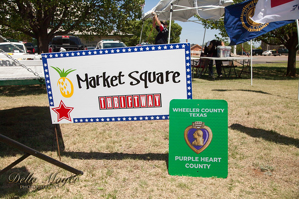 Shamrock Purple Heart Celebration