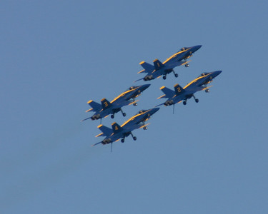 Blue Angels, 1,2,3.4, San Francisco, 2006