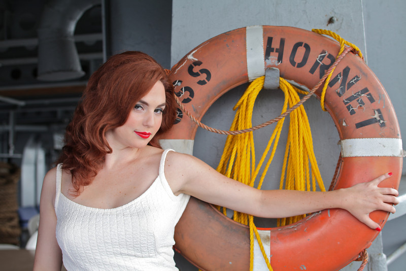 Pin-Up, USS Hornet, Alameda, September 2010