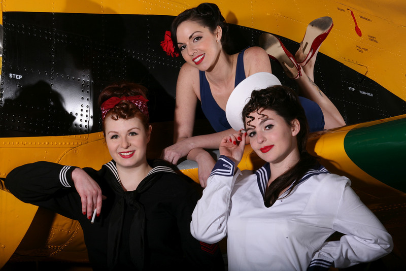 Pin-Ups, USS Hornet, Alameda, March 2010