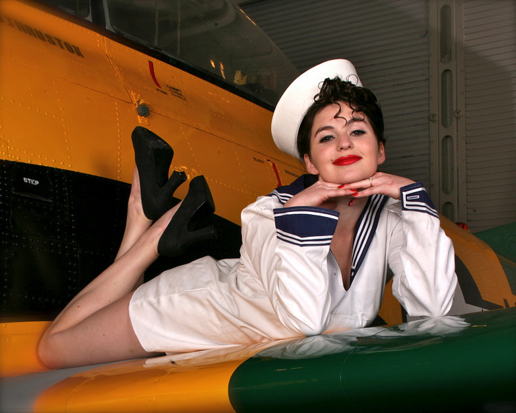 Pin-Up, USS Hornet, Alameda, March 2010