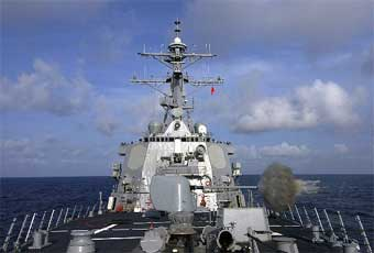 Combining Aegis, the Vertical Launching System, an advanced anti-submarine warfare system, advanced anti-aircraft missiles and Tomahawk ASM/LAM, the Burke class continues the revolution at sea.