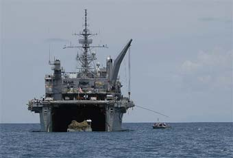 The Landing Platform Dock 17, San Antonio Class, is the latest class of amphibious force ship for the U.S. Navy.