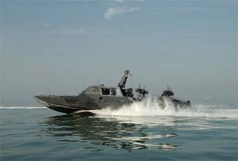 The MARK V Special Operations Craft (SOC) is the newest, versatile, high performance combatant craft introduced into the Naval Special Warfare (NSW) Special Boat Squadron (SBR) inventory to improve maritime special operations capabilities.