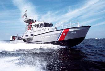 The 47' motor lifeboat is designed as a first response rescue resource in high seas, surf & heavy weather environments. They are built to withstand the most severe conditions at sea, and are capable of effecting rescues at sea even under the most difficult circumstances.