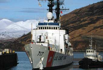 The 378-foot High Endurance Cutter class are the largest cutters, aside from the two Polar Class Icebreakers, ever built for the Coast Guard.