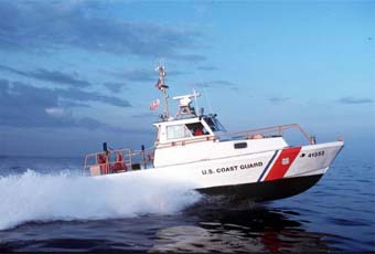 The 41-Foot Utility Boat is the general workhorse at multi-mission units.