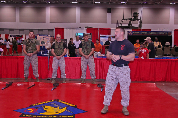 United States Marine Corps Martial Arts Demonstration