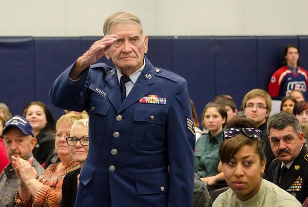 Sizer Veterans Day ceremony 2015