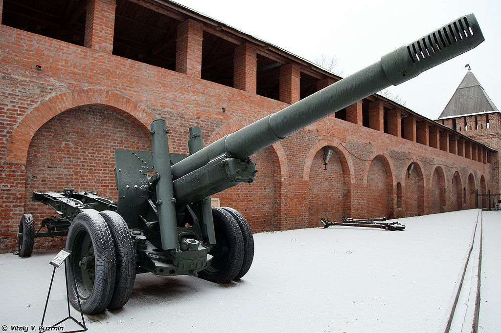 152-мм гаубица-пушка образца 1937 года МЛ-20 (152mm howitzer-gun M1937 ML-20)