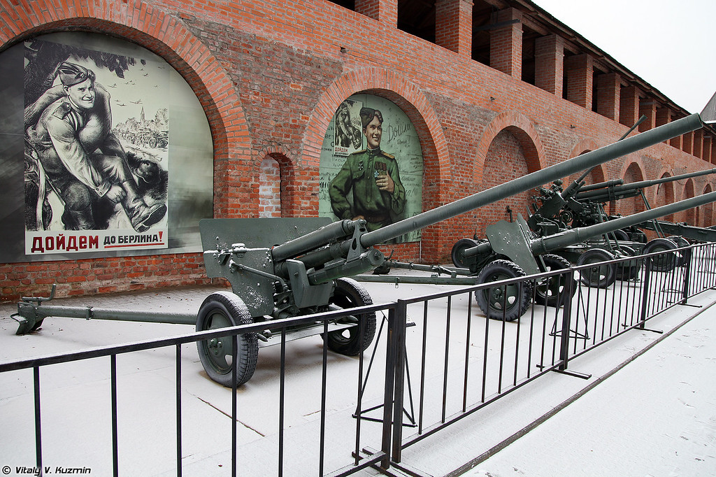 57-мм противотанковая пушка ЗИС-2 (57mm anti-tank gun ZIS-2)
