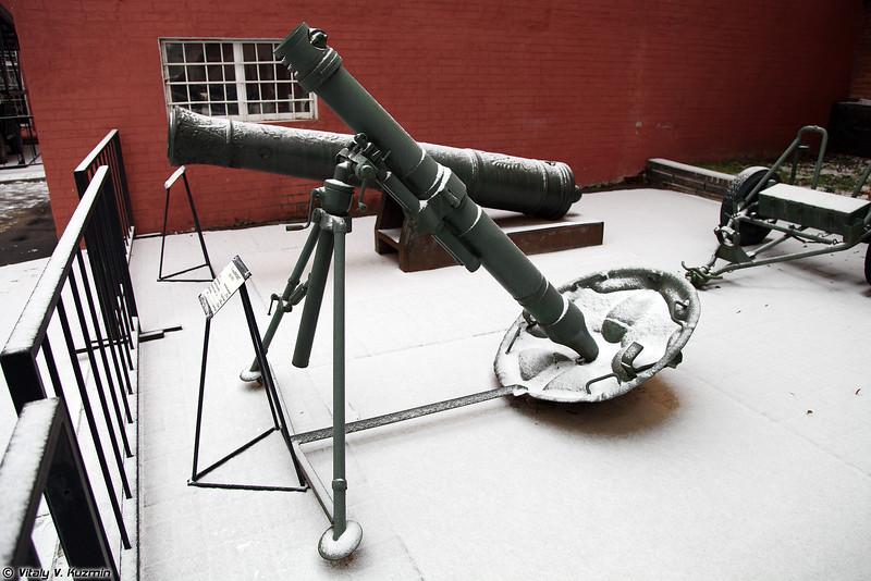 120-мм полковой миномет образца 1943 года (120mm mortar M1943)