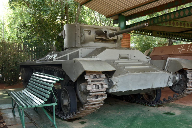 British Valentine Mark I tank, South African National Museum of Military History, Johannesburg, 20 September 2018 1.