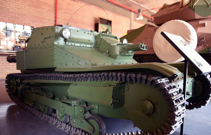 Italian L3 light tank, South African National Museum of Military History, Johannesburg, 20 September 2018 1.