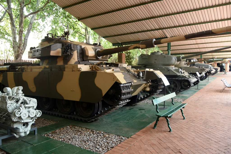 British Centurion tank, South African National Museum of Military History, Johannesburg, 20 September 2018 1.
