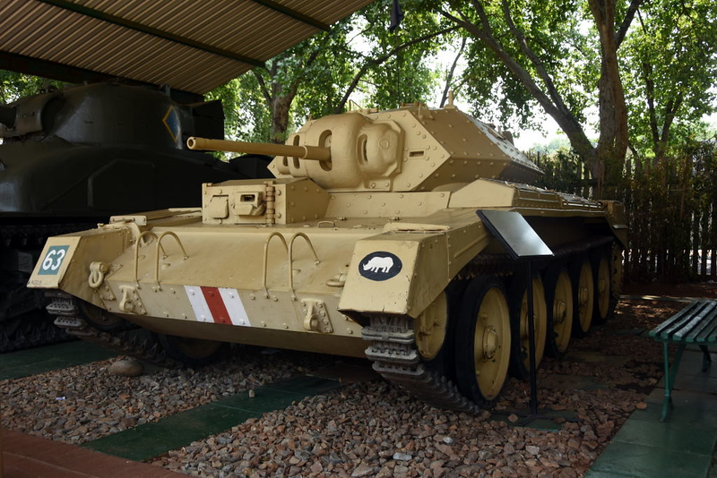 British Crusader Mark II tank, South African National Museum of Military History, Johannesburg, 20 September 2018.