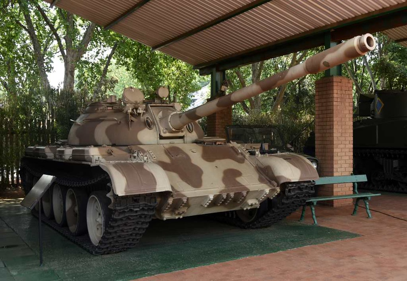 Soviet T-55 tank, South African National Museum of Military History, Johannesburg, 20 September 2018 1.