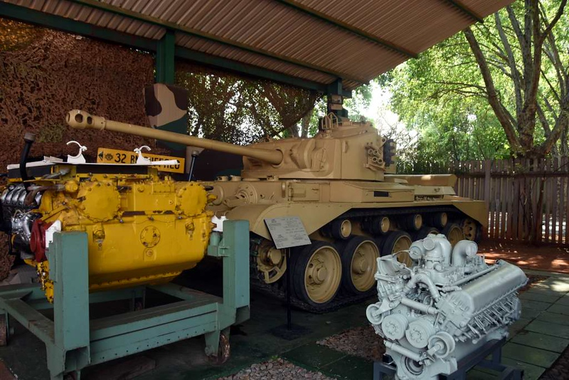 British Comet tank, South African National Museum of Military History, Johannesburg, 20 September 2018 1