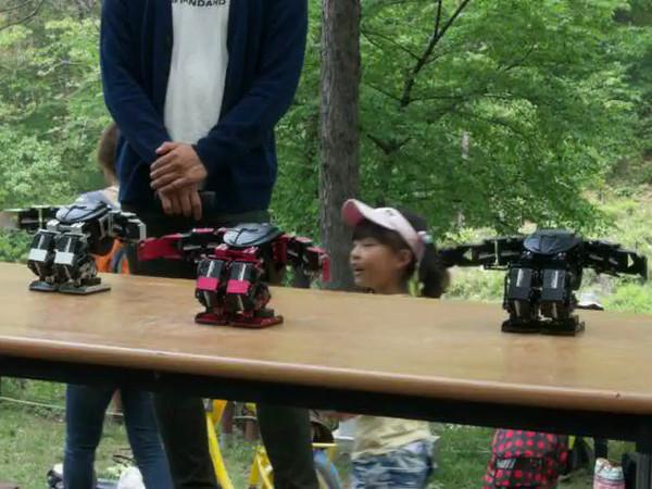cool dancing robots!